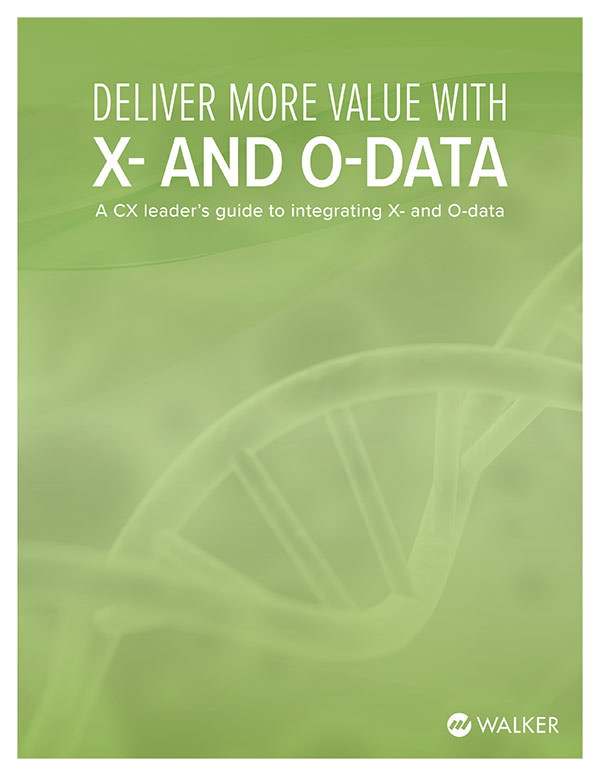 Deliver More Value with X- and O-data
